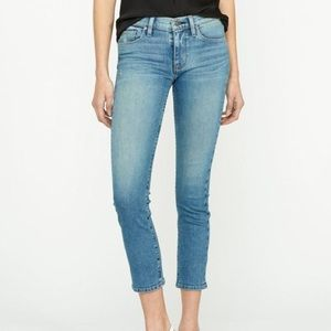 NWT HUDSON JEANS TALLY SKINNY CROP LIGHT WASH